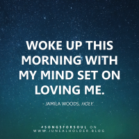 Song For Soul: Holy (Jamila Woods)
